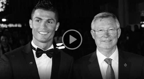 Ronaldo's perfect night meeting Fergie